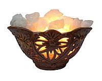 """Соляной светильник керамический""""Сердце"""""""