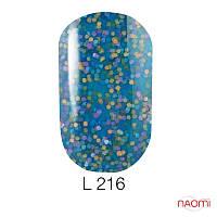 Гель-лак Naomi Lets Go Party 216, 6 мл