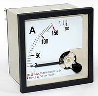 Амперметр 0 - 150А (150/5) щитовой 96х96 стрелочный цена переменного тока шкаф аналоговые, фото 1