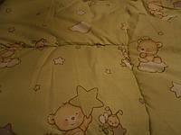 Одеяло детское -теплое в кроватку (Шерстипон)