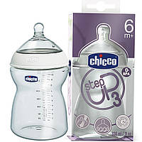 Бутылочка для кормления Chicco Step Up 3 330 мл 6+ 60072.00.04