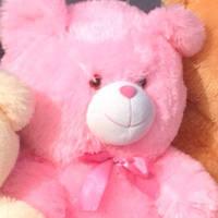 Мягкая плюшевая игрушка  Мишка с лапатошками,47 см