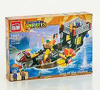 Конструктор для детей пиратская лодка дракон