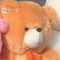 Мягкая плюшевая игрушка  Мишка с лапатошками,55 см
