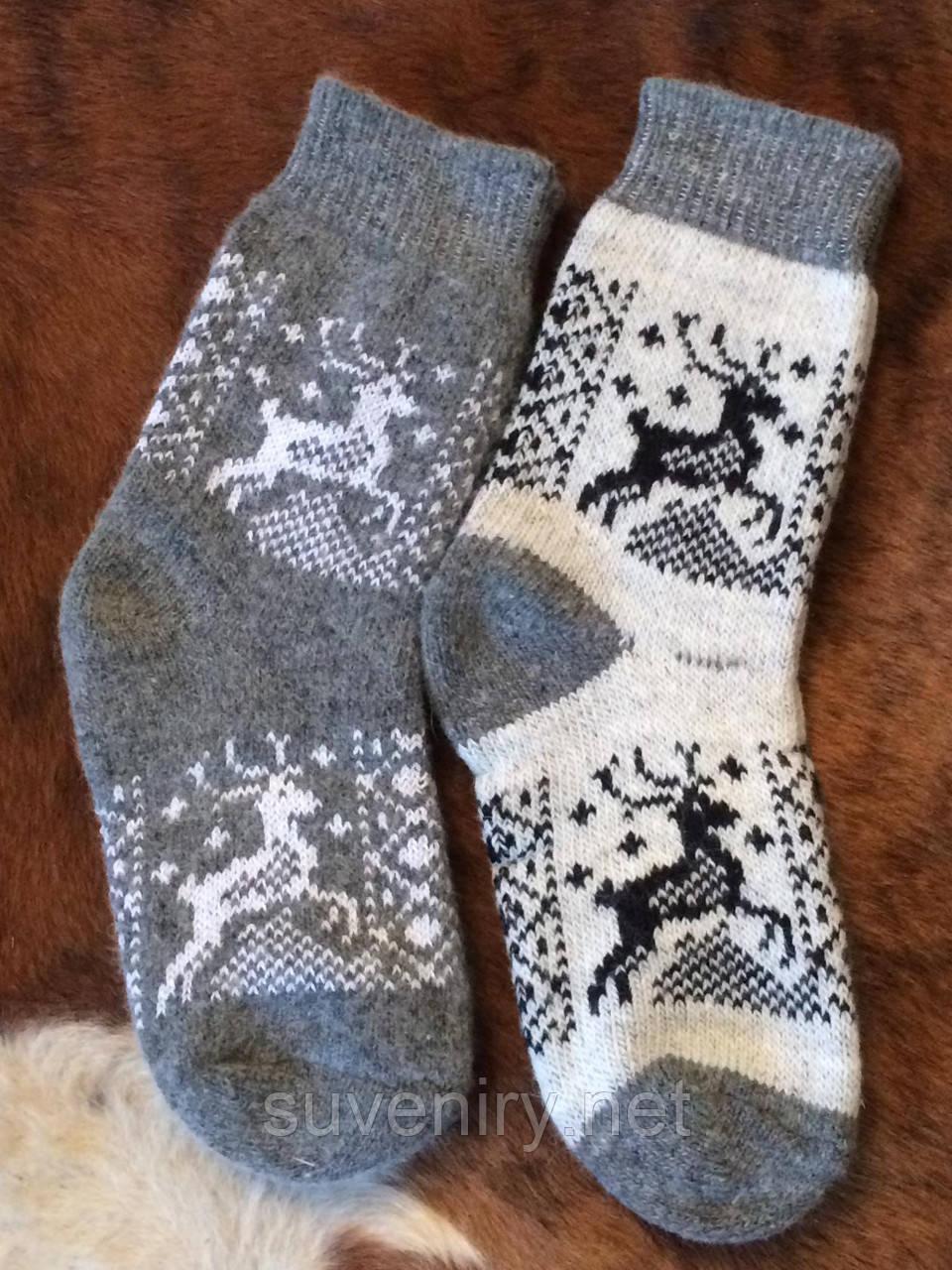 Носки мужские из шерсти ангоры