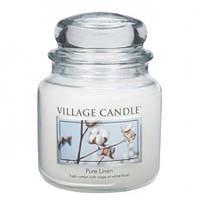 """Ароматическая свеча в стекле Village Candle """"Свежесть"""". 455 гр/ 105 часов"""