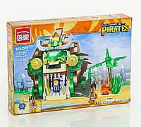 Детский конструктор пиратский замок