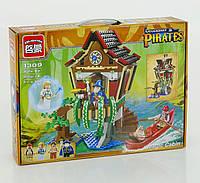 Конструктор для детей пиратская база