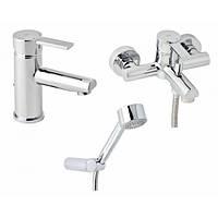 Набор смесителей для ванны и раковины Genebre Tau2 03TA2-bath