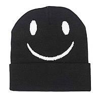 Стильная шапка унисекс Смайл