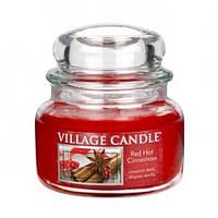 """Ароматическая свеча в стекле Village Candle """"Корица"""". 315 гр/ 55 часов"""