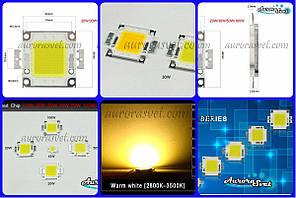 LED 30W Warm White (Светодиод Теплый белый 30 Вт)