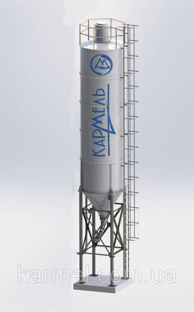 Силос для цемента 35 тон/26 м.куб KARMEL