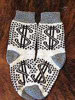 Мужские носки из натуральной шерсти ангоры
