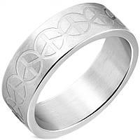 """Мужское кольцо из стали """"Piece"""", в наличии 18.0, 19.0, 20.0, 20.7"""