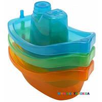 Набор игрушек для ванной Яркие лодочки Baby Team 8854