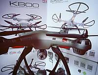 Квадрокоптер K800 Pro Авто взлет\посадка, 50 см, WIFI, камера