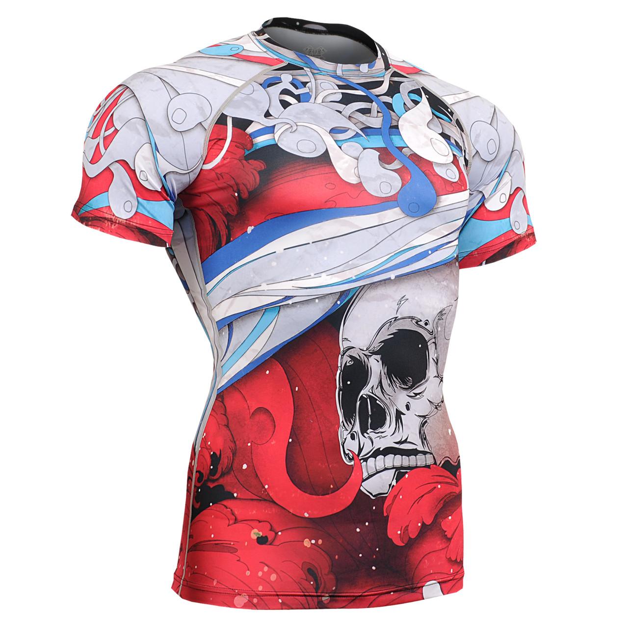 Компрессионная футболка рашгард Fixgear CFS-19R