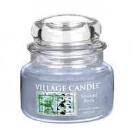 """Ароматическая свеча в стекле Village Candle """"Береза"""". 315 гр/ 55 часов"""