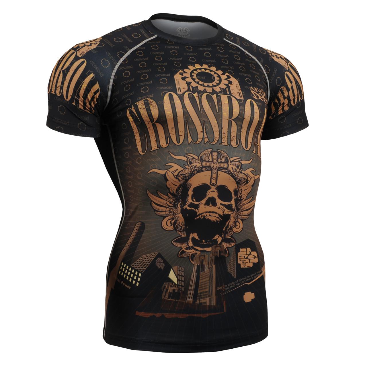Компрессионная футболка рашгард Fixgear CFS-27