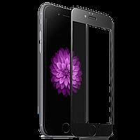 Защитное стекло 3D для iPhone 6/6S Plus - HPG Tempered Glass 3D Full Screen 0.3 mm/9H, черный