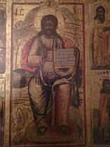 Икона Лечебник XIX век Россия, фото 2