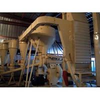 Линия гранулирования пеллет (топливных гранул) производительностью 1 т/час