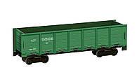 Картонная модель Полувагон зелёный 276-1 УмБум