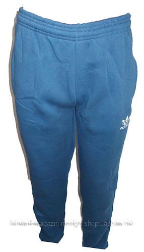 Штаны спортивные мужские на флисе Прямые Adidas
