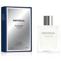 Dilis Parfum La Vie Individual Platinum мужская туалетная вода 100 мл