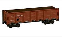 Картонная модель Полувагон коричневый 276-2 УмБум