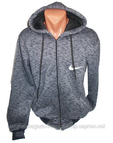 Кофта мужская спортивная на флисе с капюшоном Nike
