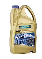 Масло трансмис. RAVENOL ATF DEXRON VI, 4 л