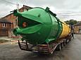 Силос для цемента и инертных материалов на 75 тонн. с двойным конусом KARMEL, фото 4