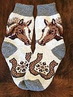 Очень теплые носочки из ангоровой шерсти