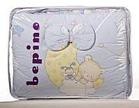 Детский постельный комплект Bepino 8 предметов Мишка на Луне