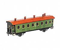 Картонная модель Пассажирский вагон 287 УмБум