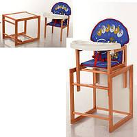 Деревянный стульчик трансформер Vivast