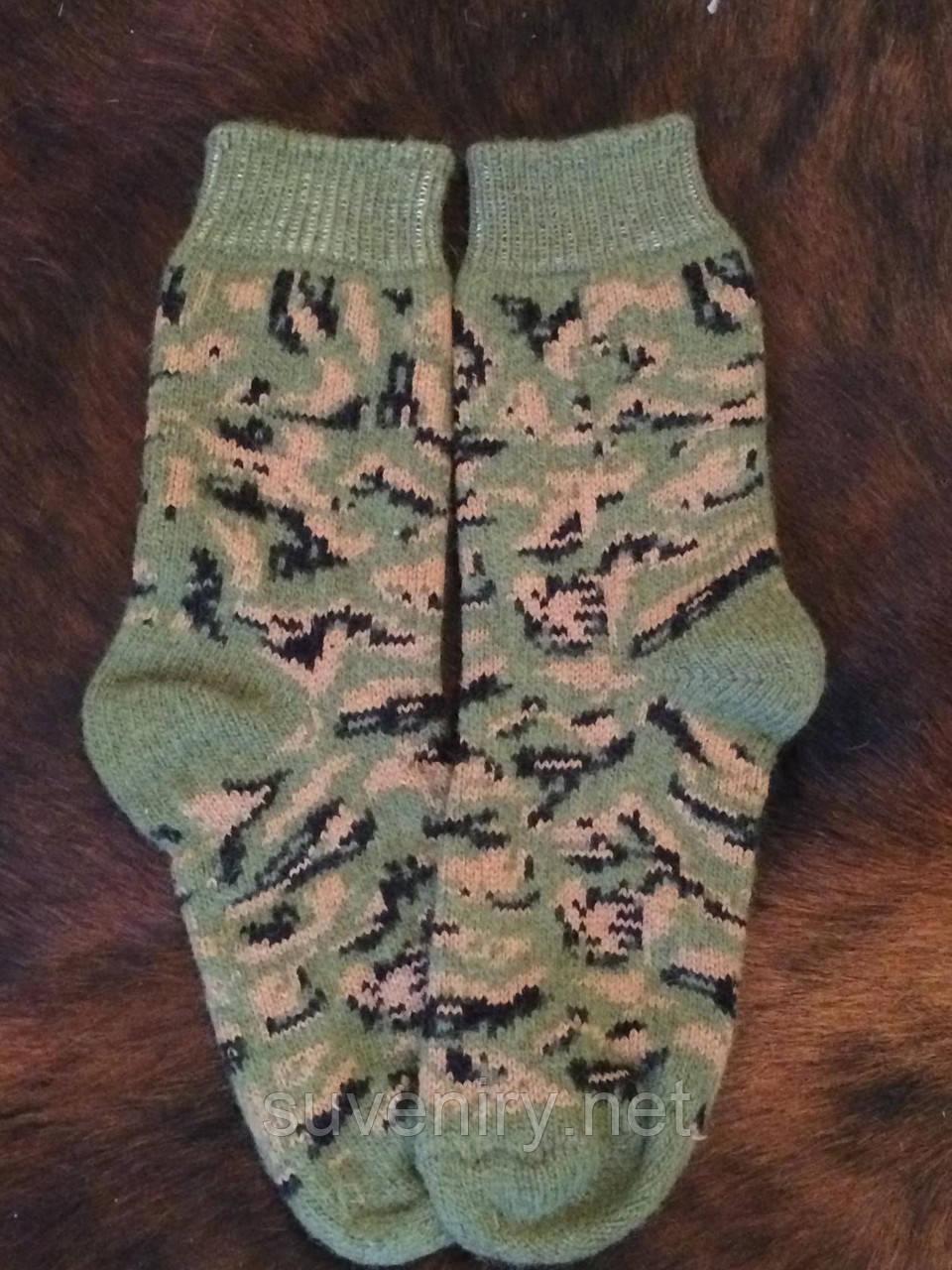 Шерстяные ангоровые носки мужские