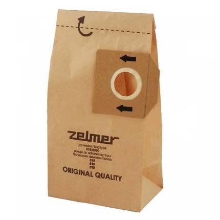 Бумажный мешок Zelmer для пылесоса зелмер пылесборник одноразовый, фото 2