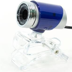 Веб камера CARPO M10 компьютерная для скайпа usb Синий, фото 2
