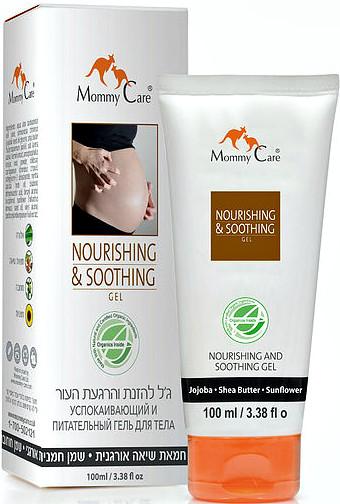 Mommy Care успокаивающий и питательный гель для ухода за кожей беременных 100 мл