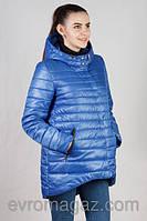 Демисезонная куртка с фигурным низом (42-52)
