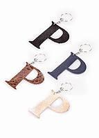 Кожаный брелок Poolparty на замок, ключи