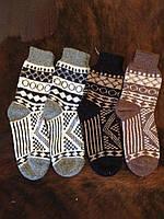 Красивые теплые мужские ангоровые носочки