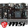 Материнская плата MSI A68HM-E33 V2 FM2+  сокет 2 x USB 3.0 2 x USB 2.0 micro ATX 2 слота DDR3 32 Гб