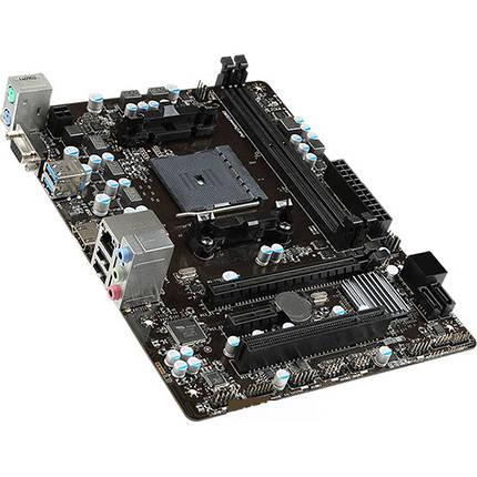 Материнская плата MSI A68HM-E33 V2 FM2+  сокет 2 x USB 3.0 2 x USB 2.0 micro ATX 2 слота DDR3 32 Гб, фото 2