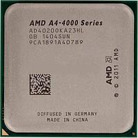 Процессор компьютерный AMD A4 - 4020 3,2 Ггц 5000 MHz 1 MB sFM2 AD4020 OKHL BOX для ПК компьютера игровой