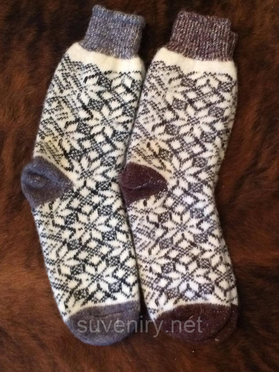 Очень теплые носки из шерсти ангоры
