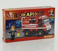 Конструктор для детей пожарка